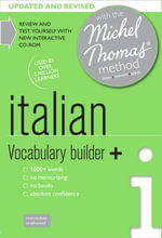 Italian Vocabulary Builder+ with the Michel Thomas Method - Paola Tite