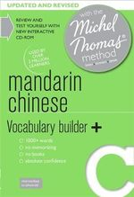 Mandarin Chinese Vocabulary Builder+ with the Michel Thomas Method - Harold Goodman