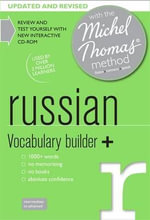 Russian Vocabulary Builder+ with the Michel Thomas Method - Natasha Bershadski