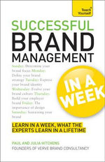 Successful Brand Management in a Week : Teach Yourself - Paul Hitchens