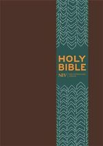 NIV Pocket Brown Imitation Leather Bible - New International Version
