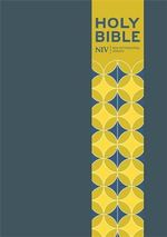 NIV Pocket Blue Soft-Tone Bible with Clasp - New International Version