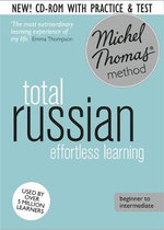 Total Russian : Revised (Learn Russian with the Michel Thomas Method) - Natasha Bershadski
