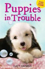Puppies in Trouble : Puppies in the Pantry AND Puppy in a Puddle - Lucy Daniels