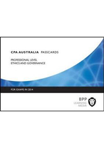 CPA Ethics and Governance: Professional level : Passcards - BPP Learning Media