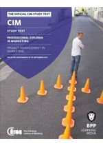 CIM - 8 Project Management in Marketing : Study Text - BPP Learning Media