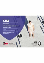 CIM - Introductory Certificate in Marketing : Passcards - BPP Learning Media