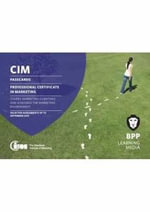 CIM - Professional Certificate Level : Passcards - BPP Learning Media