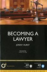Becoming a Lawyer : Is Law Really the Career for You? - Jonny Hurst