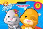 Zhu Zhu Pets Colouring Poster Pad : Over 70 Stickers!