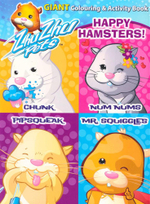 Happy Hamsters! : Giant Colouring & Activity Book