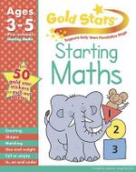 Gold Stars Starting Maths Preschool Workbook