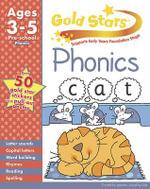 Gold Stars Phonics Preschool Workbook