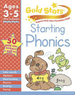 Gold Stars Starting Phonics Preschool Workbook