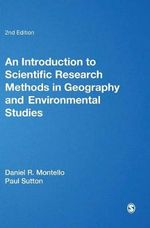 An Introduction to Scientific Research Methods in Geography and Environmental Studies - Daniel R. Montello