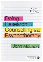 Doing Research in Counselling and Psychotherapy - John McLeod