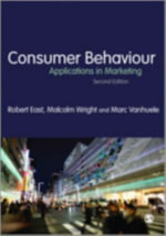 Consumer Behaviour : Applications in Marketing - Malcolm Wright