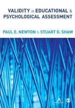 Validity in Educational and Psychological Assessment - Paul E. Newton