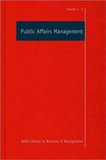 Public Affairs Management : A Study of Sir Percival Waterfield and the Creatio...