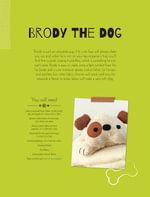 Brody the Dog Soft Toy Pattern - Mariska Vos Bolman