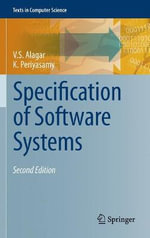 Specification of Software Systems : 8th International Workshop, Mompes 2012, Essen, Ge... - V.S. Alagar