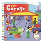 Busy Garage : Busy Books - Rebecca Finn
