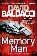 Memory Man : Decker and Lancaster - David Baldacci