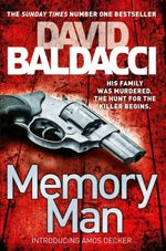 Memory Man : Order Now For Your Chance to Win!* - David Baldacci