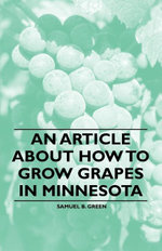 An Article about How to Grow Grapes in Minnesota - , Samuel Green