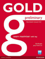 Gold Preliminary Maximiser with Key - Sally Burgess