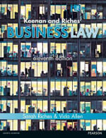 Keenan and Riches' Business Law - Sarah Riches