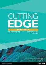 Cutting Edge Pre-intermediate Students' Book and DVD Pack - Araminta Crace
