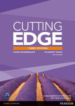 Cutting Edge Upper Intermediate Students' Book and DVD Pack : Upper intermediate - Peter Moor