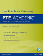 Pearson Test of English Academic Practice Tests Plus and CD-ROM with Key Pack : Practice Tests Plus - Felicity O'Dell