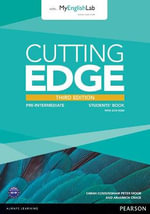 Cutting Edge Pre-Intermediate Students' Book with DVD and MyEnglishLab Pack - Peter Moor