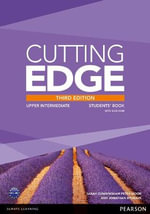 Cutting Edge Upper Intermediate Students' Book with DVD and MyEnglishLab Pack - Peter Moor