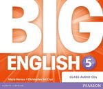 Big English 5 Class CD - Mario Herrera