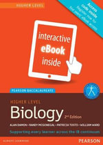 Pearson Baccalaureate Biology Higher Level 2nd Edition eBook Only Edition (eText) for the Ib Diploma - Patricia Tosto