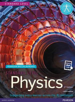 Pearson Baccalaureate Physics Standard Level Print and eBook Bundle for the IB Diploma - Chris Hamper