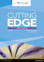 Cutting Edge Starter : MyLab Pack - Sarah Cunningham