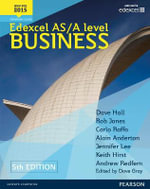 Edexcel AS/A Level Business - Dave Hall