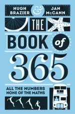 The Book of 365 : All the Numbers, None of the Maths - Hugh Brazier
