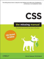CSS3 : The Missing Manual - David Sawyer Mcfarland