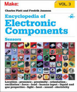 Encyclopedia of Electronic Components: Volume 3 : Light, Sound, Heat, Motion, Ambient, and Electrical Sensors - Charles Platt