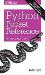 Python Pocket Reference - Mark Lutz
