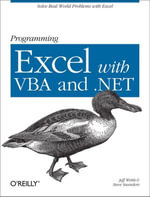 Programming Excel with VBA and .NET - Jeff Webb