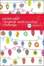 Pocket Posh Christmas Word Roundup Challenge : 100 Puzzles