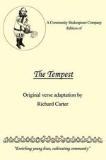 Community Shakespeare Company Edition of The Tempest - Carter Richard