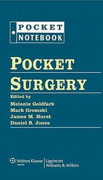 Pocket Surgery : Pocket Notebook - Melanie Goldfarb