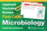 Lippincott Illustrated Reviews Flash Cards : Microbiology - Cynthia Nau Cornelissen